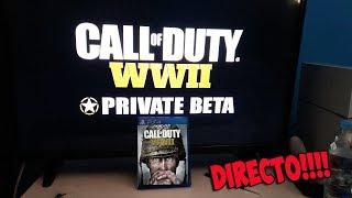 JUGANDO en DIRECTO - Call Of Duty WWII PS4