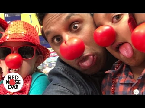 Let's Talk To Some Kids About Red Nose Day! | Red Nose Day 2016