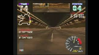 "ALZERI Speedruns: Ridge Racer Revolution, Advanced Extra Race using GALAGA CARROT (3'12""185)"