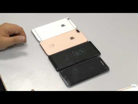 Сравнение Apple iPhone 8 Plus и Samsung Galaxy Note 8