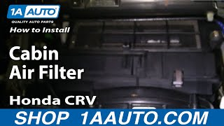 Video How To Install Replace Cabin Air Filter Honda CR-V 02-06 1AAuto.com download MP3, 3GP, MP4, WEBM, AVI, FLV Juni 2018