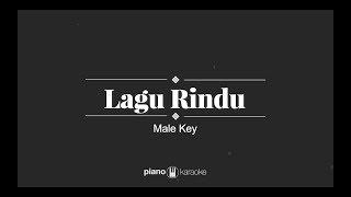 Lagu Rindu - Kerispatih (MALE KARAOKE PIANO COVER)