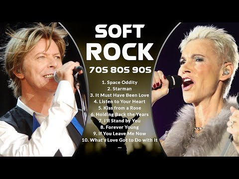 Soft Rock 70s 80s 90s - David Bowie, Roxette, Simply Red, Alphaville, Tina Turner, Chicago