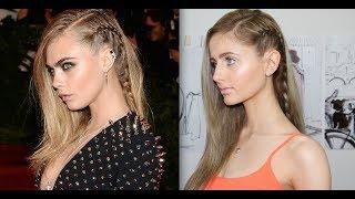 Cara Delevingne Hair Tutorial + How to Braid Thumbnail