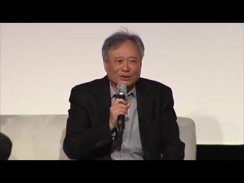 Ang Lee Keynote at NAB Show