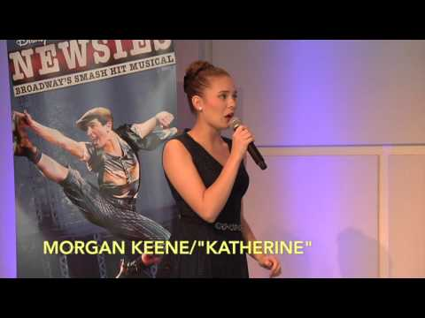 "Interviews with the cast from Disney's ""Newsies"""