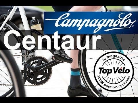 Image de la vidéo Essai du groupe aluminium Campagnolo Centaur et roues Scirocco