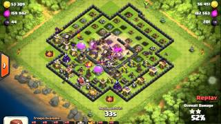Clash of clans th10 3star sir clash goes wild lavaloonion 2015