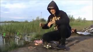 Рибалка у м Петропавловськ сівши Казахстан