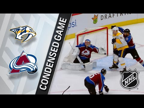 03/04/18 Condensed Game: Predators @ Avalanche