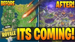 Fortnite - THE END IS NEAR! - Map DESTROYED / NEW MAP? - More Proof The Meteor Will Wipe Us Out!!