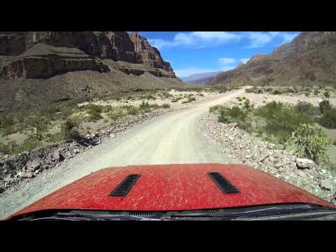 Diamond Creek Road - Driving to the bottom of the Grand Canyon
