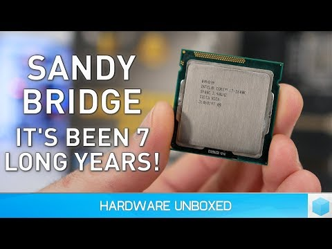 Core i7-2600K vs. 8700K: It's Been 7 Long Years