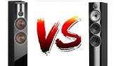 SMSL AD18 vs NAD 312 + DAC X6 (Bowers & Wilkins DM305) - YouTube