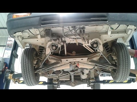 Maruti Omni full hd under body engine chessis video