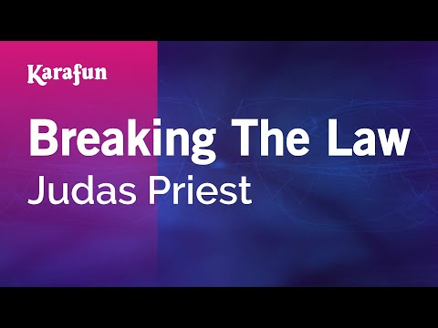 Judas Priest - Breaking The Law (Live) Free Guitar Backing Track