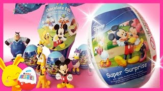 Maxi oeufs surprises Mickey Minnie Donald Dingo - Touni Toys