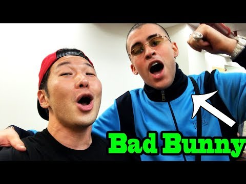 Best of BAD BUNNY - SINGING IN PUBLIC COMPILATION by QPark!! Mp3