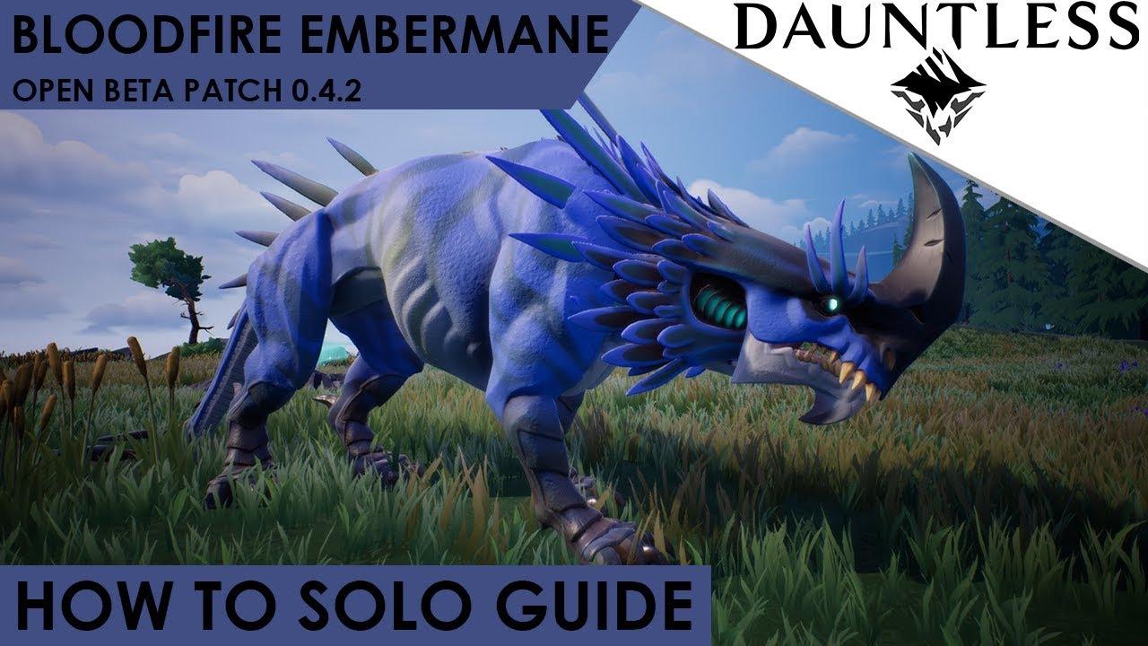 dauntless embermane guide