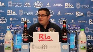 Video Diego Epifanio previa Leche Río Breogán Melilla Baloncesto 2019 2020