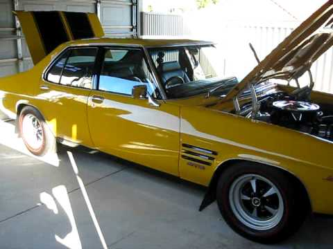 & HQ MONARO 350 GTS/4 MUSTARD YELLOW 1973 - YouTube