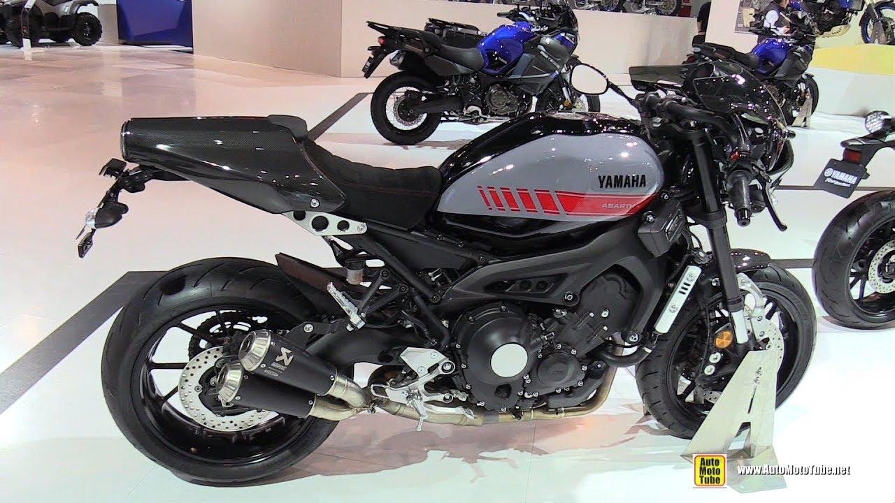 2018 yamaha xsr 900 abarth walkaround 2017 eicma motorcycle exhibition youtube. Black Bedroom Furniture Sets. Home Design Ideas