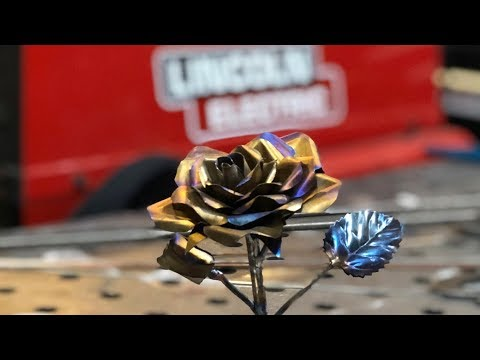 DIY Valentine's Day Gift idea - Metal rose