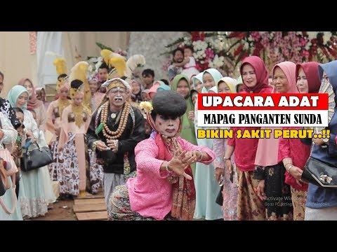 AKSI LUCU AMBU & KI LENGSER BIKIN NGAKAK..!! Prosesi Upacara Adat Mapag Panganten Sunda