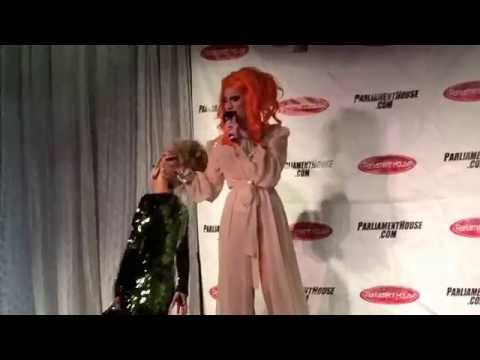 """Jinkx & Bianca backstage @ Parliament House """"RPDR Winner's Circle"""" event on New Year's Eve 2014/2015"""