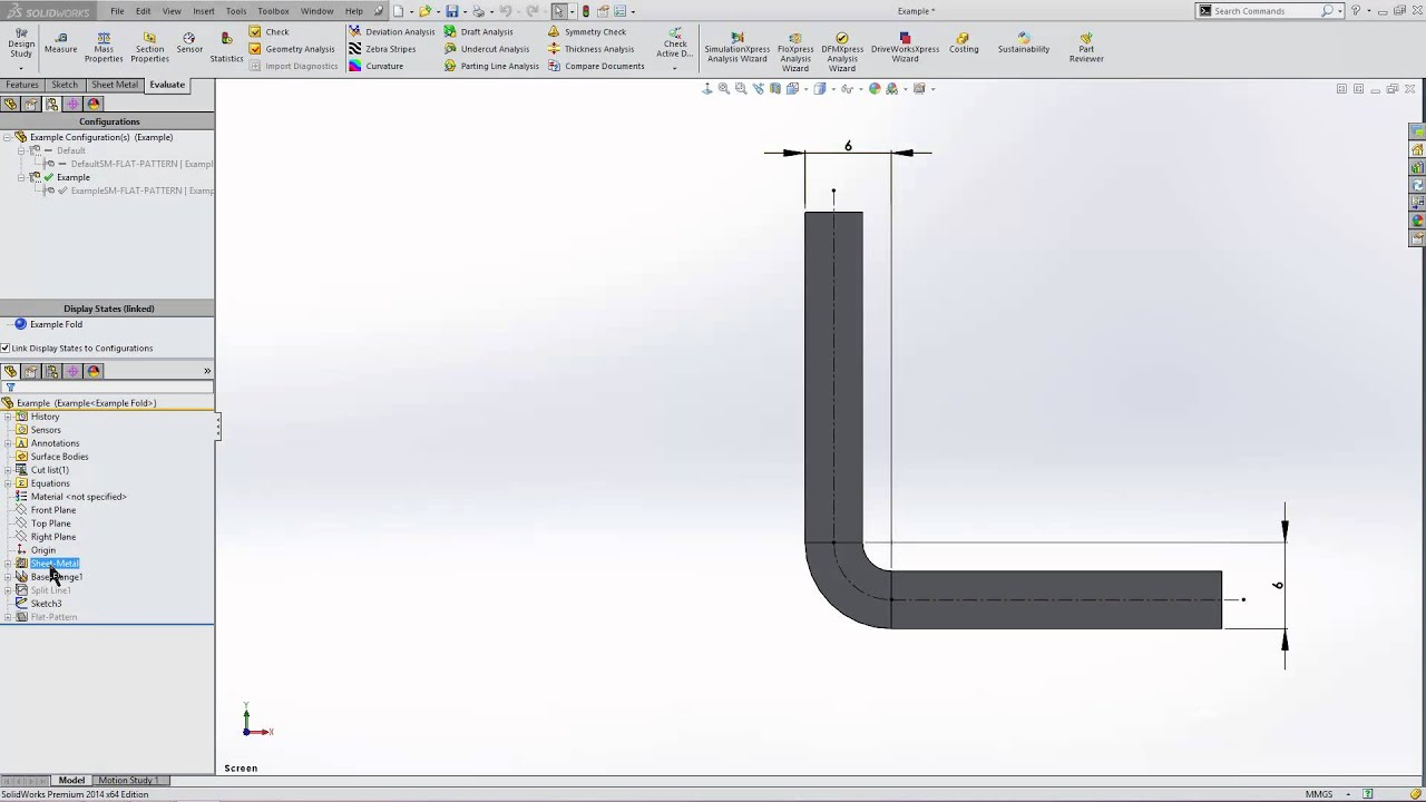 The difference between K Factor, Bend Allowance and Bend Deduction in  SOLIDWORKS