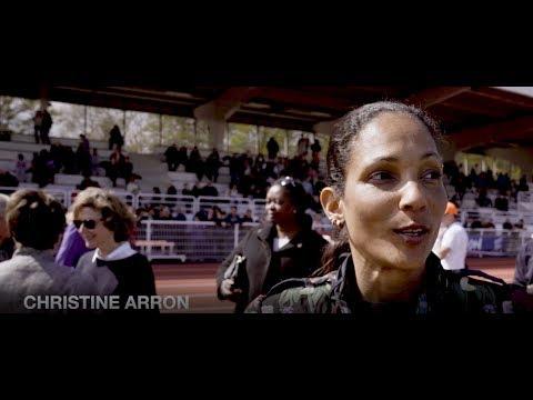 Inauguration du Stade Christine Arron