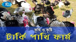 Krishi o Krishti | টার্কি পাখির খামার | Turkey Bird Farm | Ep - 110 | Rtv Lifestyle | Rtv