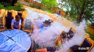 Popeye Raging Rapids Water Ride - Universal Orlando - SOAKED!