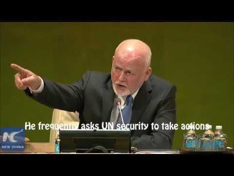 71st UNGA President gets upset maintaining order during 2016 General Debate