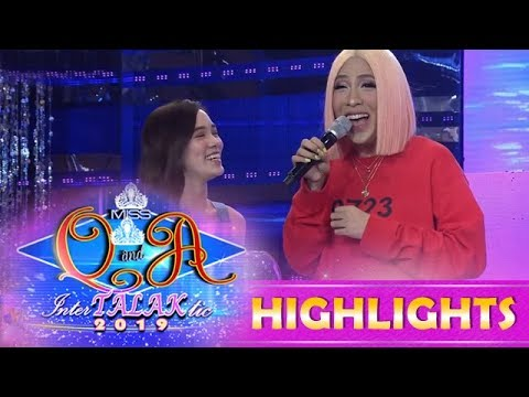 It's Showtime Miss Q & A: Vice Ganda asks Jackque about her plan on Valentine's Day