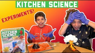 3 Fun Experiments for Kids! | Kitchen Science Product Review????????????