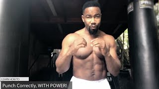 Michael Jai White: Punching Correctly