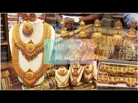 Chickpet Bangalore One Gram Gold Jewellery Shop  Wholesale And Retail Prices  Bangalore Shopping