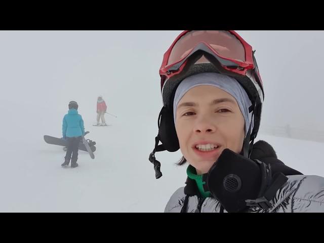 VLOG: Поменялись лицами / Мы на Чимбулаке! Клим на лыжах