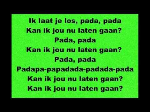 James Watss - Laten Gaan - Lyrics
