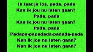 James Watss - Laten Gaan - Lyrics