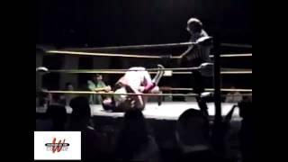 """Tommy """"Wild Fire"""" Rich vs. JT Lightning - Cleveland All-Pro Wrestling"""
