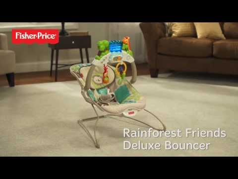 Fisher Price Rainforest Baby Bouncer | K2564