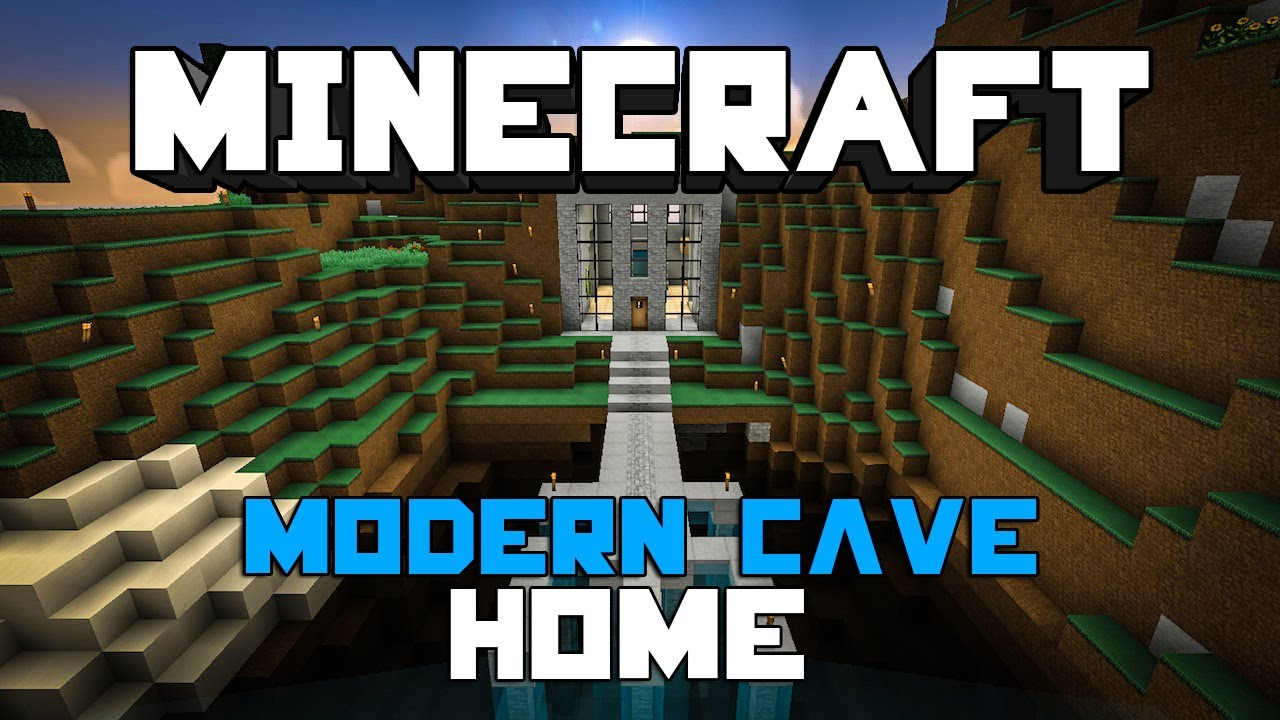 Minecraft Modern Cave Home #1 YouTube