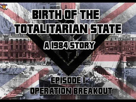 Birth of the Totalitarian State: A 1984 Story- Episode I: Operation Breakout (Lego series)