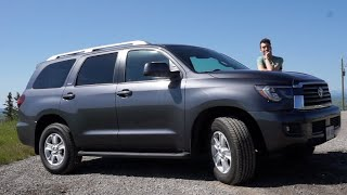 2018 Toyota Sequoia SR5 Review: Staying Old