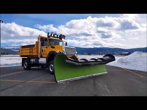 Airport Mega Plow - Truckee Tahoe Airport
