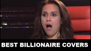 Download lagu BEST BILLIONAIRE covers in The Voice Kids   The Blind Auditions