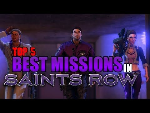 Top 5 Best Missions In Saints Row