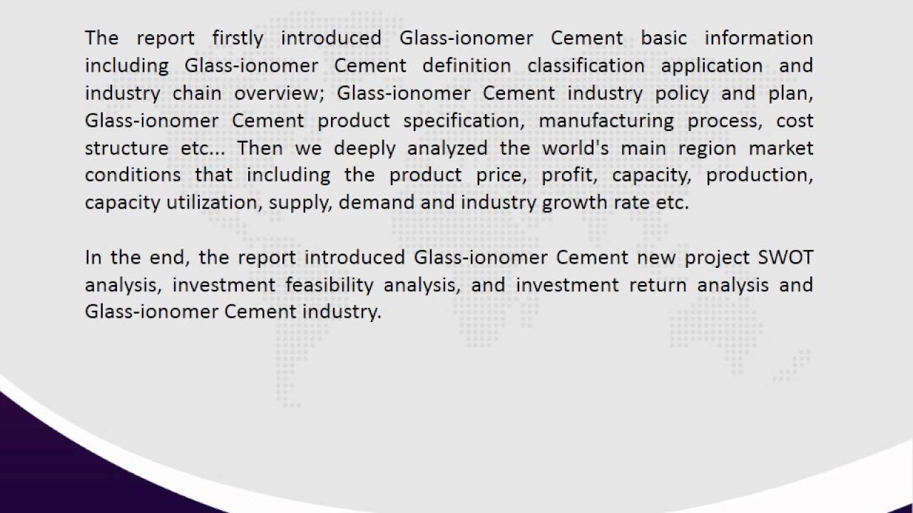 swot analysis of cement industry